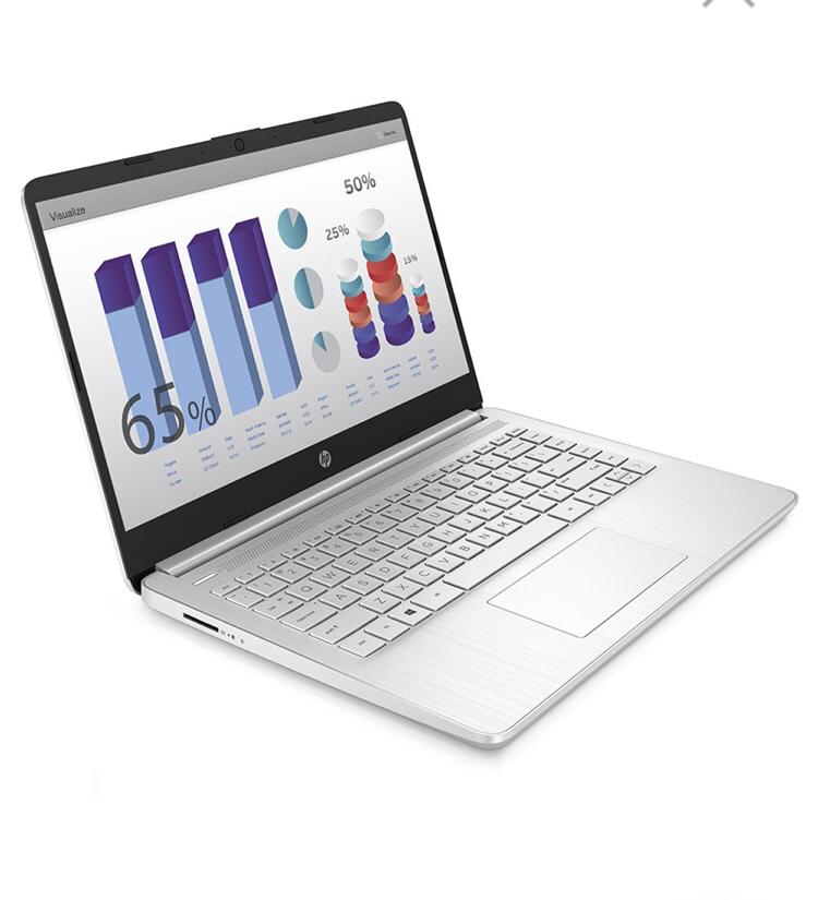 NOTEBOOK HP I5 14-DQ1019LA 8GB/256SSD/W10 + MOCHILA + MOUSE