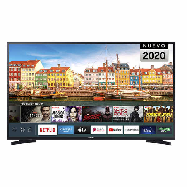"TV LED SMART SAMSUNG DE 43"" FHD UN43T5202AGXZS"